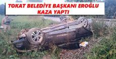 Başkan Eroğlu Kaza Yaptı