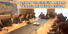 Başkan Yıldırım Ankara'da Hangi Toplantıya Katıldı?