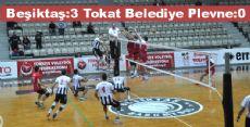 Beşiktaş:3 Tokat Belediye Plevne:0