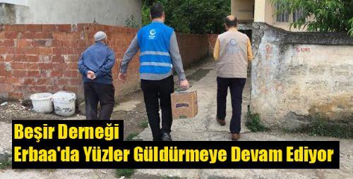 Beşir Derneği Erbaa'da Yüzler Güldürmeye Devam Ediyor