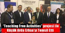 Bilim Şenliğinde Erbaa'yı Temsil Etti