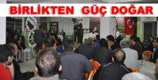 Birlik ve Beraberlik Toplantısına Yoğun Katılım