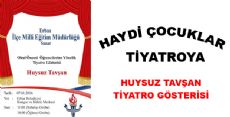 Bugün Erbaa'da Tiyatro Günü