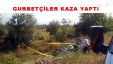 Çalkara yakınlarında kaza