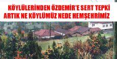 Cem Özdemir'e Köylülerinden Tepki