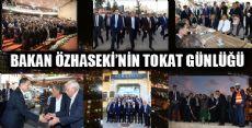 Çevre ve Şehircilik Bakanı Özhaseki'nin Yoğun Tokat Programı