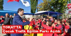 Çocuk Trafik Eğitim Parkı Açıldı