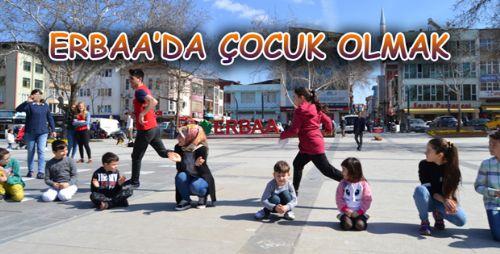 Çocuklar Unutulmaya Yüz Tutmuş Oyunlarla Eğlendi