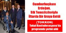 Cumhurbaşkanı Erdoğan, Stk Temsilcileriyle İftarda Bir Araya Geldi