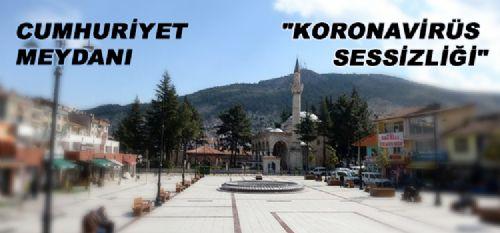 Cumhuriyet Meydanı KORONAVİRÜS SESSİZLİĞİ