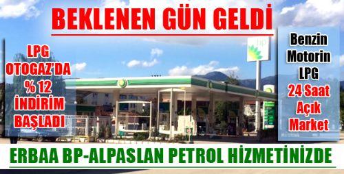 ERBAA BP-ALPASLAN PETROL HİZMETİNİZDE