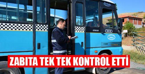 ERBAA HALK MİNİBÜSLERİ DENETİM ALTINDA