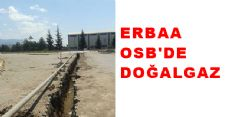 ERBAA OSB'DE DOĞALGAZ