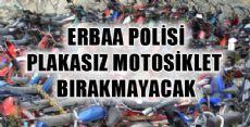 ERBAA POLİSİ MOTOSİKLET KAZALARININ ÖNÜNE GEÇMEK İSTİYOR