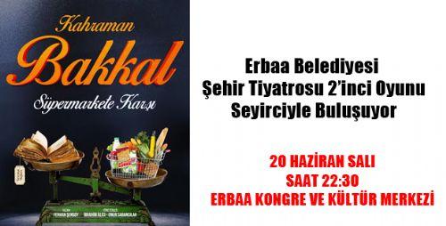 Kahraman Bakkal Süpermarkete Karşı