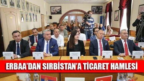 ERBAA TİCARET ODASI SIRBİSTAN'DA