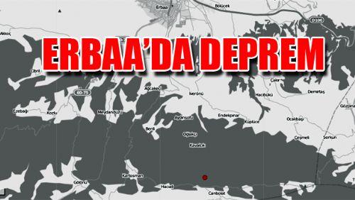 ERBAA'DA ARTÇI DEPREM