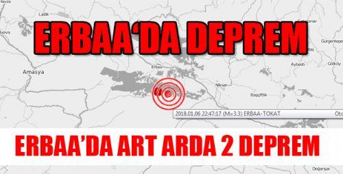ERBAA'DA DEPREM
