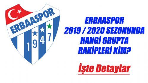ERBAASPOR 2019-2020 RAKİPLERİ BELLİ OLDU