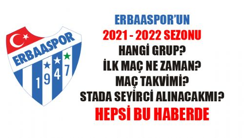 ERBAASPOR 2021-2022 SEZONU