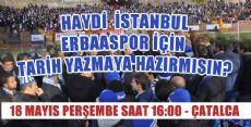 ERBAASPOR PLAYOFF İLK MAÇI İSTANBUL'DA