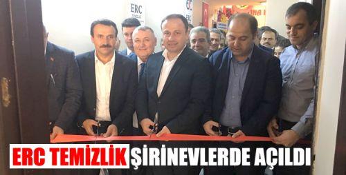 ERC TEMİZLİK TÖRENLE AÇILDI