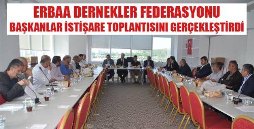 ERDEF BAŞKANLAR TOPLANTISI DÜZENLEDİ