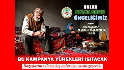 ERDEF BU KAMPANYA İLE YÜREKLERİ ISITIYOR HAYDI SENDE DESTEK OL