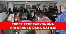 ERDEF'İN YENİ ÜYESİ