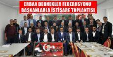 ERDEF'TEN İSTİŞARE TOPLANTISI