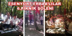 ESENYURT ERBAA'LILAR PİKNİK ŞÖLENİ