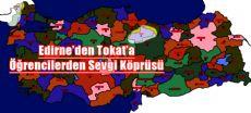 Edirne'den Tokat'a Kardeş Sınıf