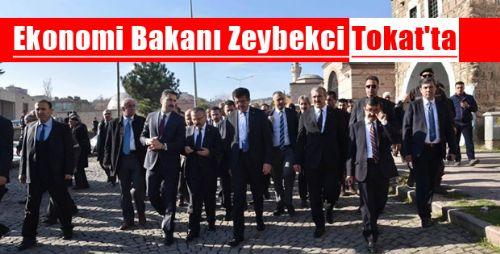 Ekonomi Bakanı Nihat Zeybekci TOKAT'ta