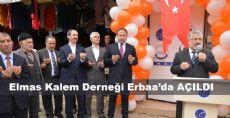 Elmas Kalem Derneği Erbaa'da Açıldı
