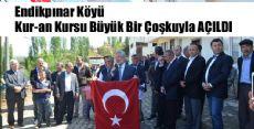 Endikpınar Köyü Kur'an Kursu Törenle Açıldı