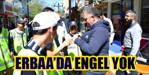 Engelli Öğrenciler Polisin Uygulama Çalışmasına Katıldı