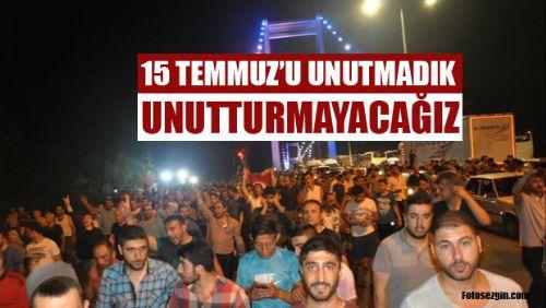 Erbaa 15 Temmuz Demokrasi ve Milli Birlik Günü Etkinlikleri