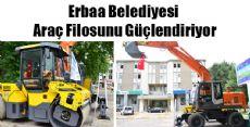 Erbaa Belediyesi Araç Filosunu Güçlendiriyor