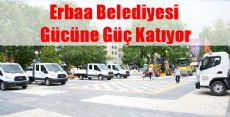 Erbaa Belediyesi Araç Filosunu Güçlendirmeye Devam Ediyor
