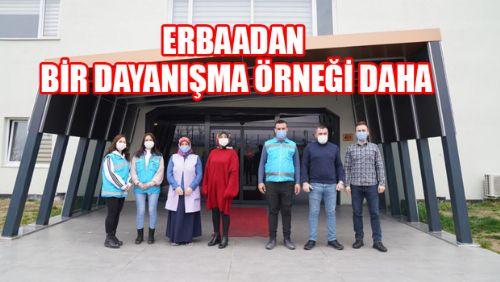 Erbaa Belediyesi Boş maske kutularını iade edip yeni maskeler alıyor