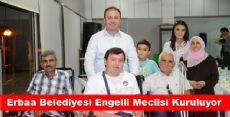 Erbaa Belediyesi Engelli Meclisi Kuruluyor