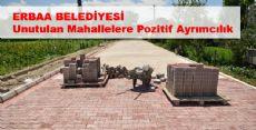 Erbaa Belediyesi Erbaa'nın Her Yerinde Çalışmalara Devam Ediyor