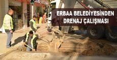 Erbaa Belediyesi Göle Dönen Yollar için Çalışma Başlattı
