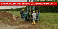 Erbaa Belediyesi Sondaj Çalışmaları Başladı