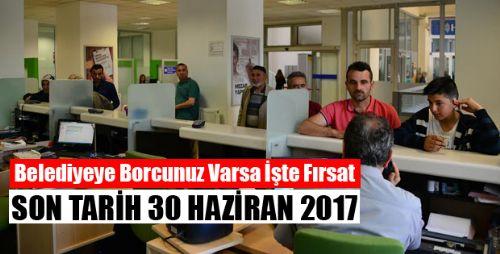 Erbaa Belediyesi Vatandaşın Borcunu Yapılandırıyor