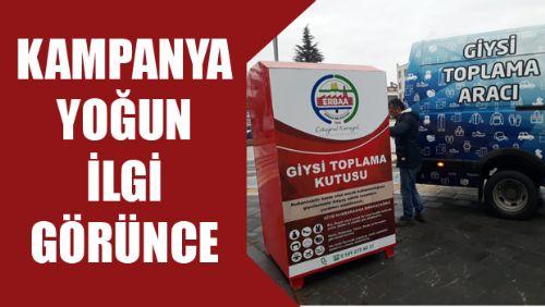 Erbaa Belediyesi projesine vatandaştan yoğun ilgi