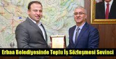 Erbaa Belediyesinde Toplu İş sözleşmesi Sevinci