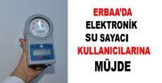 Erbaa Belediyesinden Elektronik Su Sayacına İndirim Müjdesi
