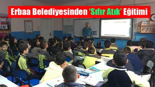Erbaa Belediyesinden Öğrencilere SIFIR ATIK  Eğitimi