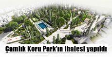 Erbaa Çamlık Koru Park'ın ihalesi yapıldı.